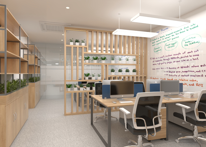 5.Office for 8 persons (Near Pantry)