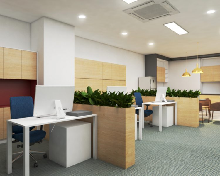 TOA Myanmar Office Design