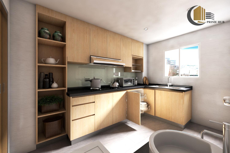 kitchen-2 with aluminium skirting
